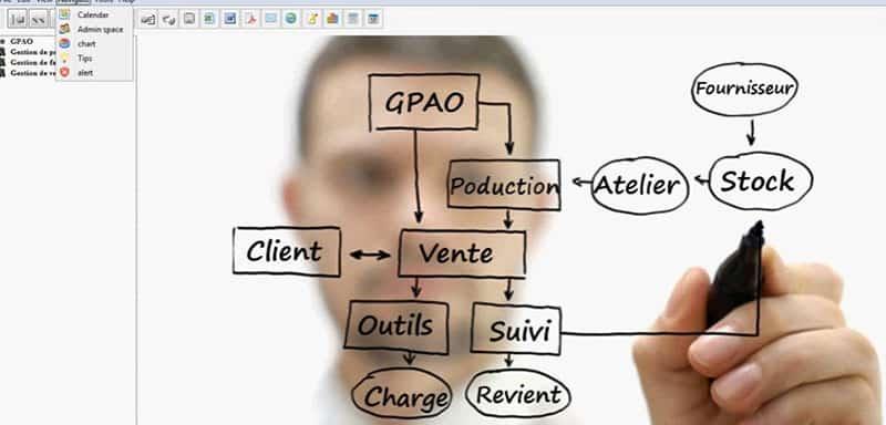 MCDM utilise le logiciel de GPAO Solune